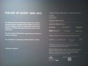 "Scent Culture Club 3: ""The Art of Scent"" vs. ""The Scent of Art"""