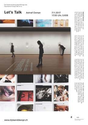 ZHdK Style & Design: Let's Talk: AshrafOsman