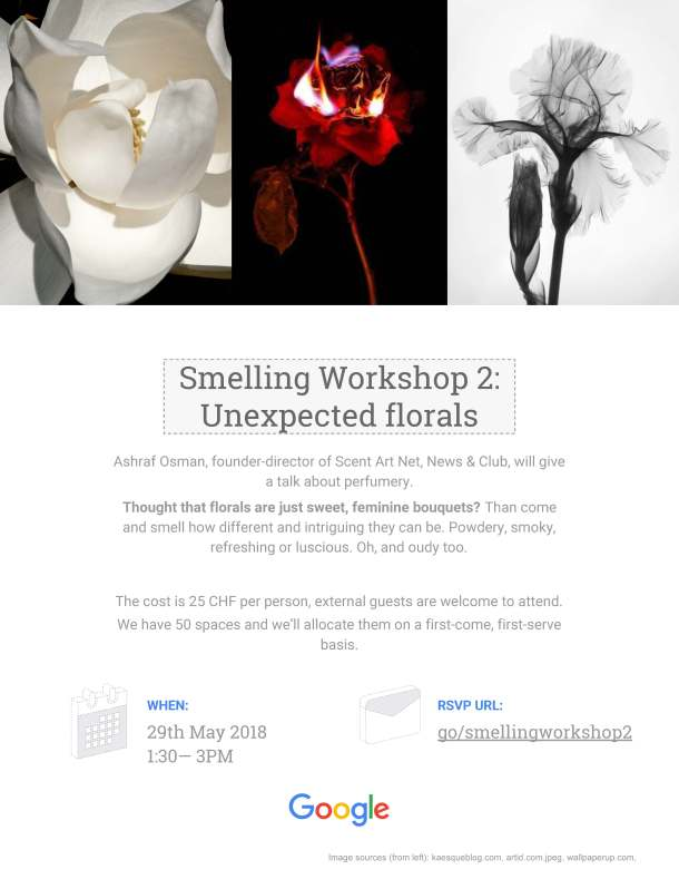 Smelling workshop 2 poster